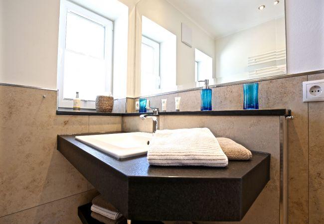 Ferienwohnung in Wangerooge (Nordseebad) - Blanker Hans 4, exklusive Wohnung mit Balkon
