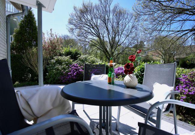 Ferienwohnung in Wangerooge (Nordseebad) - Parkoase 1, exklusive Wohnung mit Terrasse