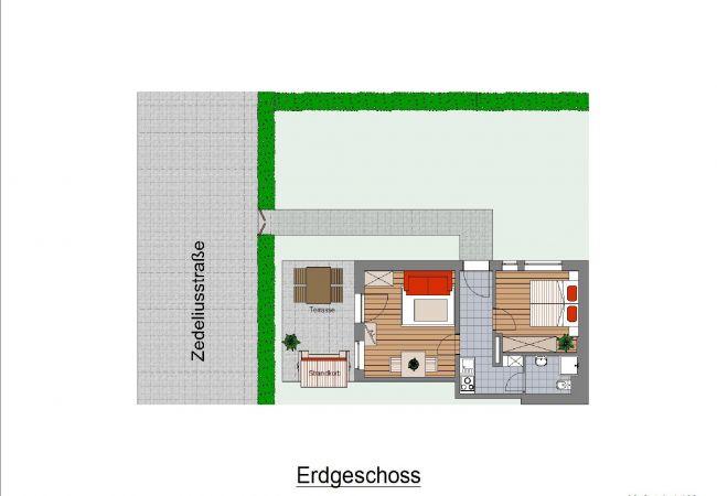 Ferienwohnung in Wangerooge (Nordseebad) - Key West 5, exklusive Wohnung mit Terrasse