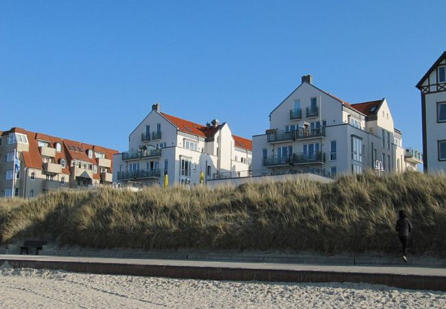 Ferienwohnung in Wangerooge (Nordseebad) - Kaiserhof 14, exklusive Wohnung mit Balkon