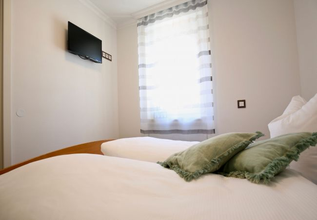 Ferienwohnung in Wangerooge (Nordseebad) - Strandvilla Marina 07, Terrasse mit Meerblick