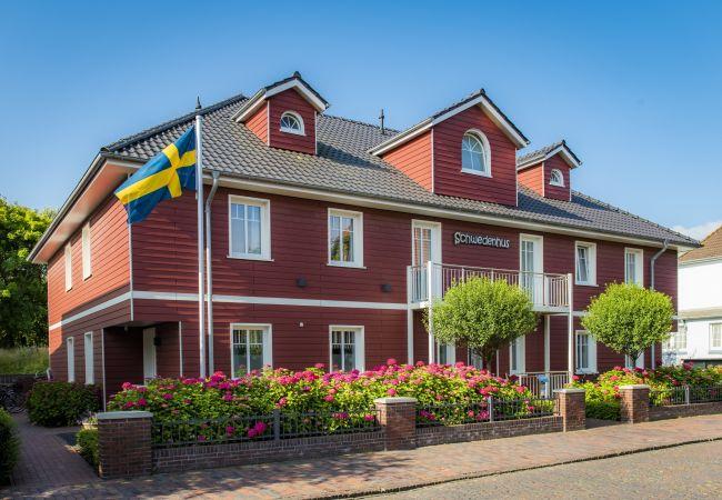Ferienwohnung in Wangerooge (Nordseebad) - Schwedenhus 3, exklusive Wohnung für 12 Personen