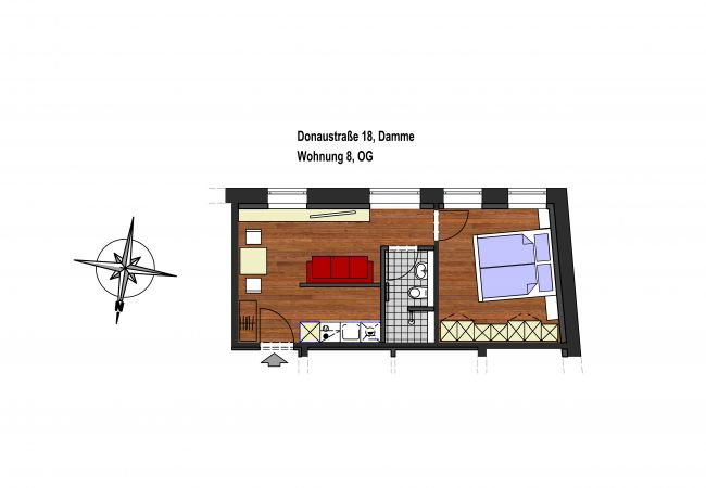 Ferienwohnung in Damme - Zum Brandenburger Tor 08 Boardinghaus