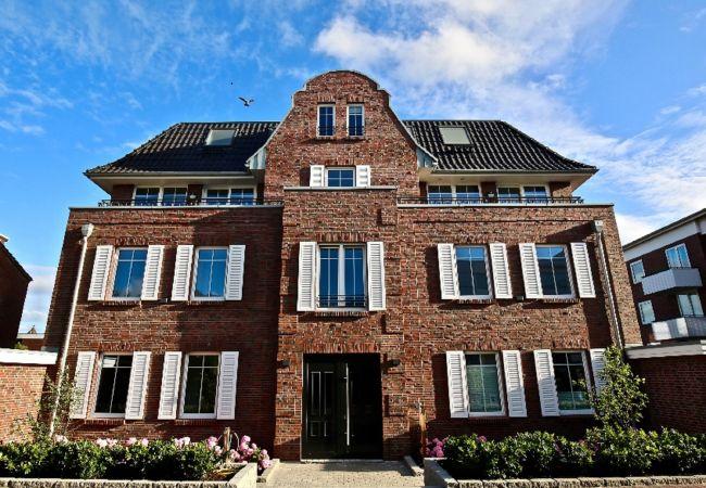 Ferienwohnung in Wangerooge (Nordseebad) - Villa Petersen 10, Himmel & Meer
