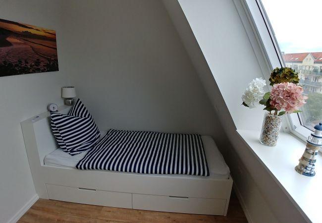 Ferienwohnung in Wangerooge (Nordseebad) - Villa Petersen 08, Wohnung Traumblick
