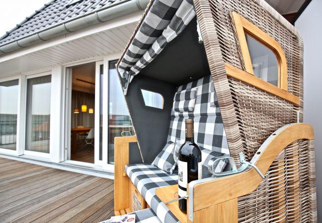 Ferienwohnung in Wangerooge (Nordseebad) - Villa Petersen 09, exklusive Penthouse Wohnung