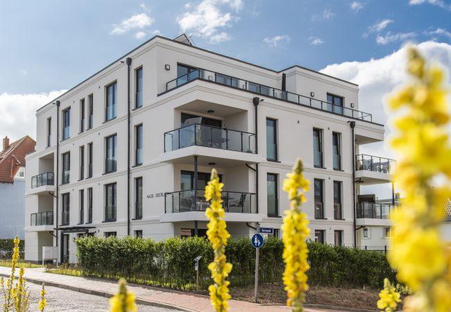 Ferienwohnung in Wangerooge (Nordseebad) - Seeblick Strandgold, exkl. Wohnung mit Meerblick
